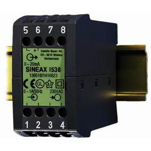 SINEAX I538 24VDC 1A 4...20mA, Messumformer für Wechselstrom, mit Hilfsenergie-Anschluss
