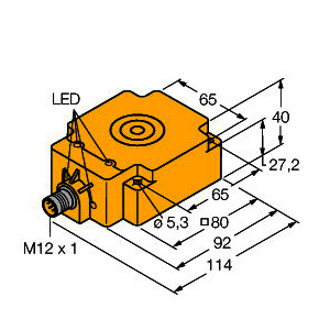 TN-Q80-H1147, Schreib-/Lesekopf, BL ident®