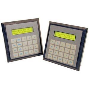 NT2S-SF125B-E, Funktionstastendisplay, Monochrom-Anzeige mit 2 Zeilen x 16 Zeichen, Echtzeituhr, numerisches Tastenfeld, RS-232C, 24 VDC