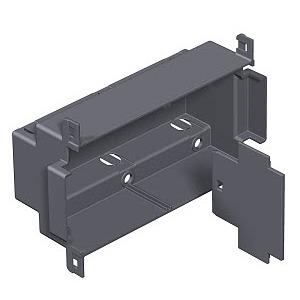 T4L EG, Einbaugehäuse für T4L 153,5x97x55, PA, graphitschwarz, RAL 9011