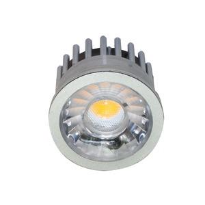 LED Modul D50 mit Linse 6,3W warmweiß 24°, LED Modul D50 mit Linse 7W warmweiß 24°