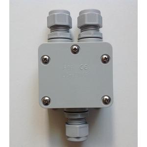 HAC120E JB3 IP65 Durchgangsv. Box, LEDINAIRE Zubehörteil: Durchgangsverdrahtungs KIT