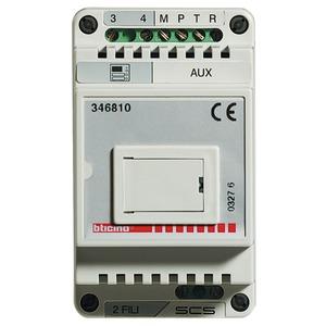 BUS TK-Interface für die Anbindung einer 2-Draht Sprechanlage an eine Telefonanlage gemäß FTZ 123D12.