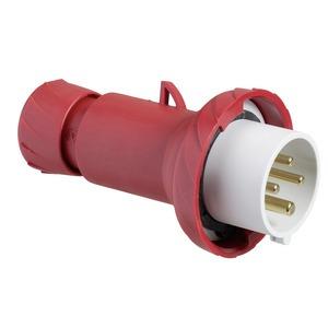CEE Stecker, Schraubklemmen, 16A, 3p+E, 380-415 V AC, IP67