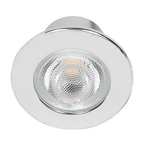 LED Mini Spot R chrom 3,3W warmweiß 22°, LED Mini Spot R chrom 3,3W warmweiß 22°