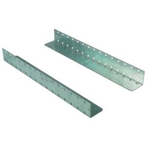 NWS-GLS/VZ/T400/1P, Gleitschiene verzinkt, T=400mm (1-paar), Zubehör für Verteiler