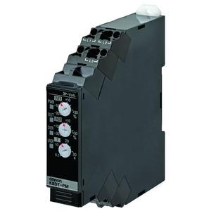 K8DT-PM2TN, Überwachungsrelais, 17.5mm, Über-/Unterspannung, Phasenlage und -ausfall, 3 Phasen/3 Draht, 380 bis 480 VAC, 1 Transistor
