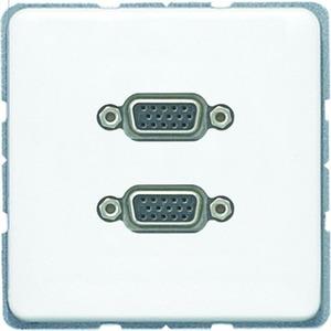 MA CD 1143 WW, 2 x VGA, Tragring, Schraubbefestigung, bruchsicher