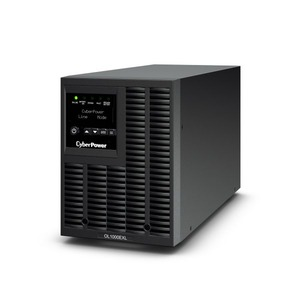 CYBERPOWER OL1000EXL Tower Double Conversion UPS 1000VA/900W Sinewave PFC compatible GreenPower Energy Saving Technology Management-SW SNMP Slot for