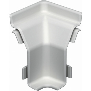 SLL IE2050 cws, Inneneck SL-L 20x50 9001, PVC, cremeweiß, RAL 9001