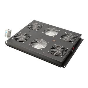 Dachlüftereinheit für DIGITUS Serverschränke 4 Lüfter mit Thermostat