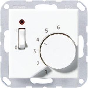 TR A 231 AL, Raumtemperaturregler, 10 (4) A, AC 230 V ~, 50/60 Hz, Öffner 1-polig