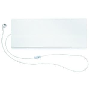 LAVA-Desk-120, LAVA DESK Untertisch-Infrarotheizung, weiß, 70 x 28 cm, 120 W, 230 V