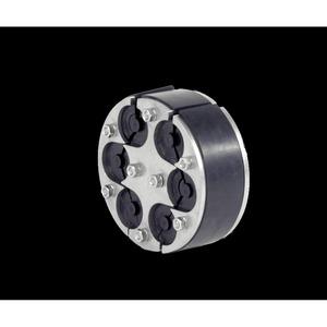 HRD 125 - SG - 6 / 6 - 31, Standard-Ringraumdichtung Kabel für 6 Kabel Ø 6 - 31 mm mit integrierten Blindstopfen