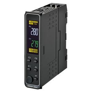 E5DC-CX2DSM-015, Universalregler, DIN-Schiene, Regelausgang 1: stetig 0/4…20mA, 2 Zusatzausgänge Relais, Universal-Eingang, 24V AC/DC, Option 015